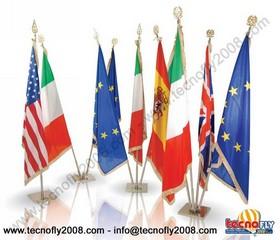Tecnofly 2008 basi e piantane per bandiere - Bandiere da tavolo e basi ...